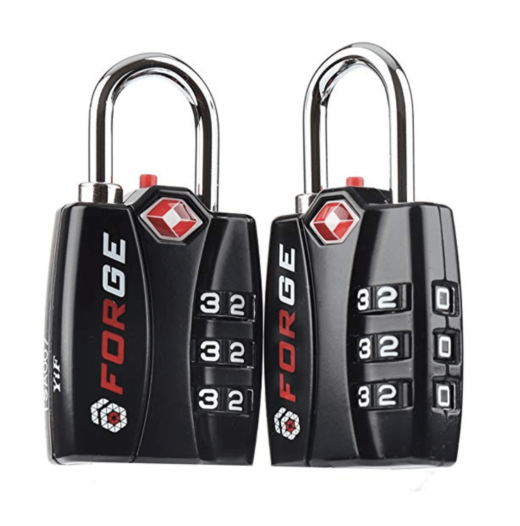 tsa approved locks - Forge TSA Locks 2 Pack