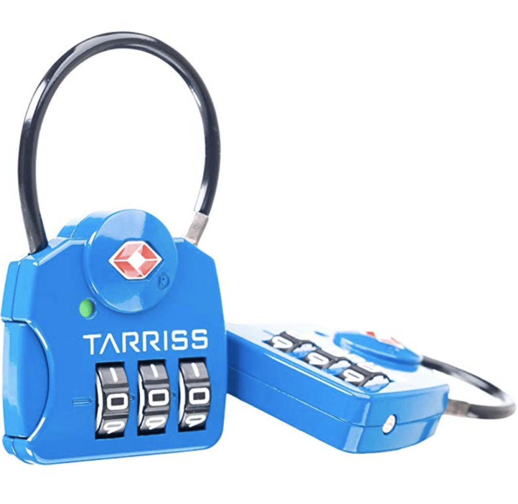 tsa approved locks - Tarriss TSA Lock With SearchAlert
