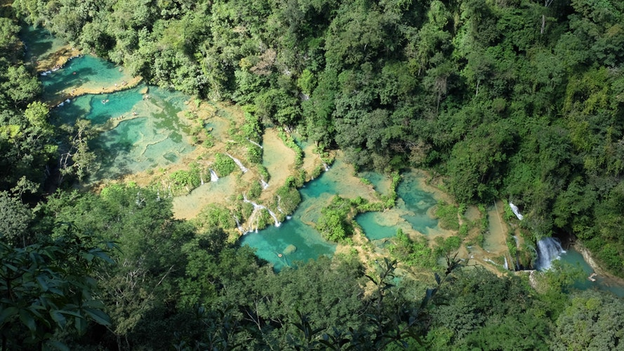 things to do in guatemala - Semuc Champey