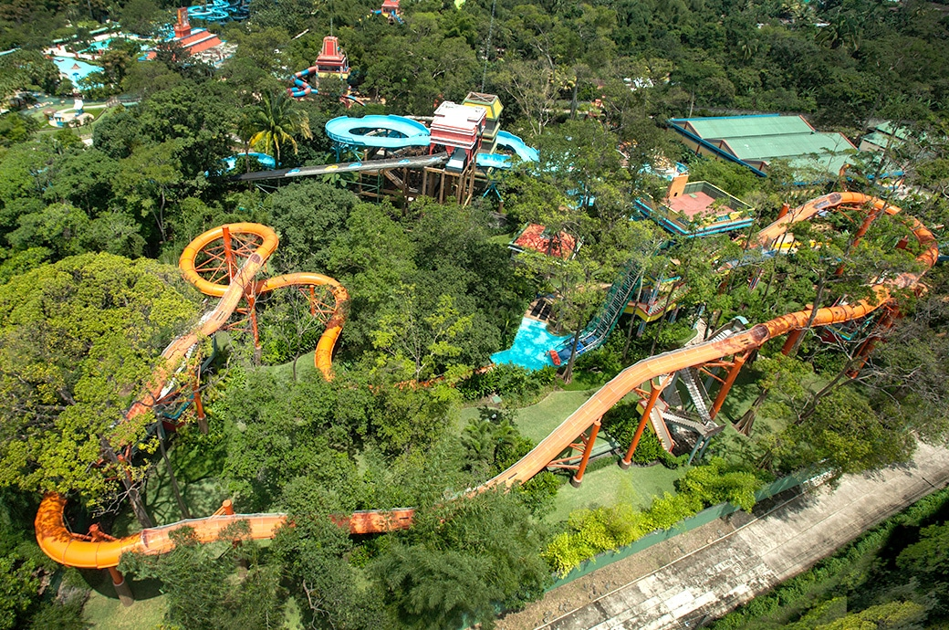 things to do in guatemala - Xetulul Theme Park & Xocomil Water Park