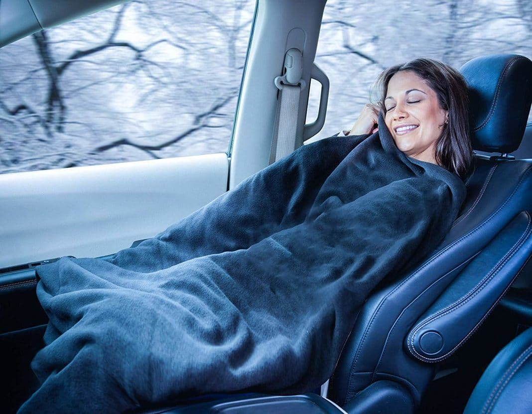 travel blanket - Zone Tech Car Heated
