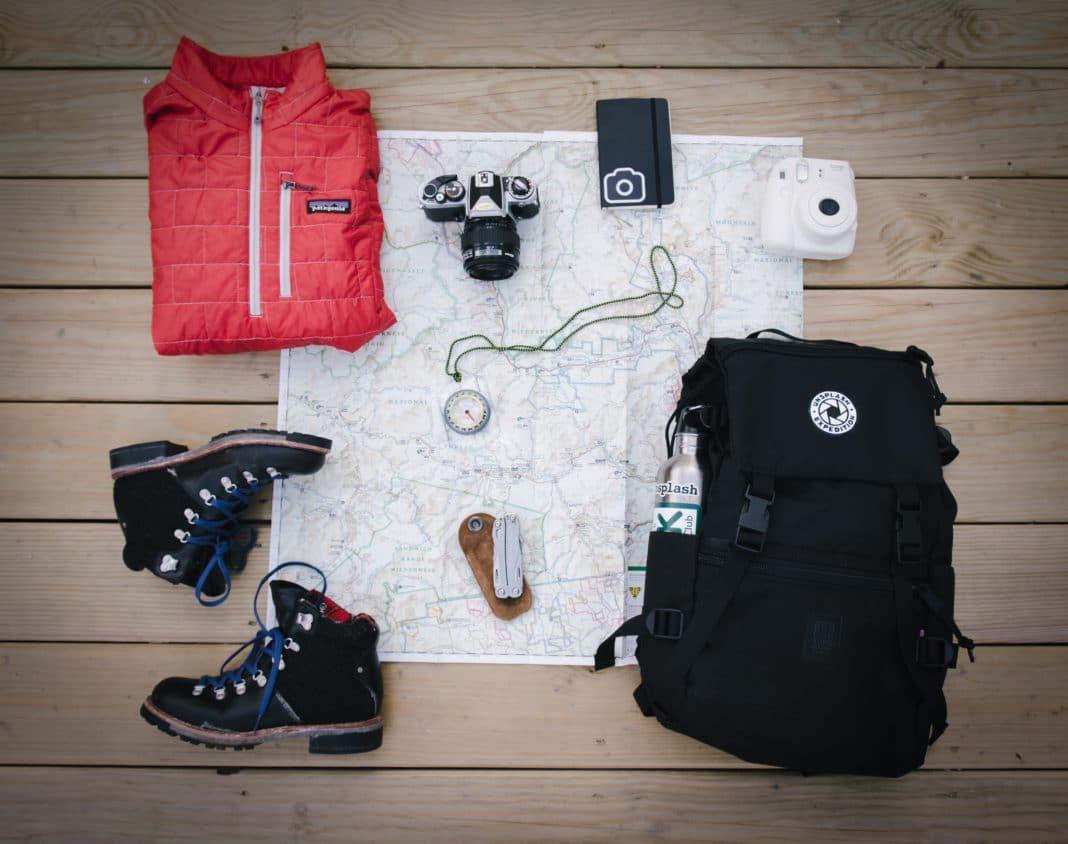 budget backpacking - Pack Light
