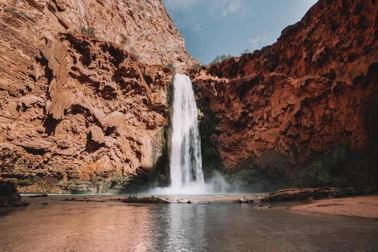 best places to visit in Arizona - Havasu Falls
