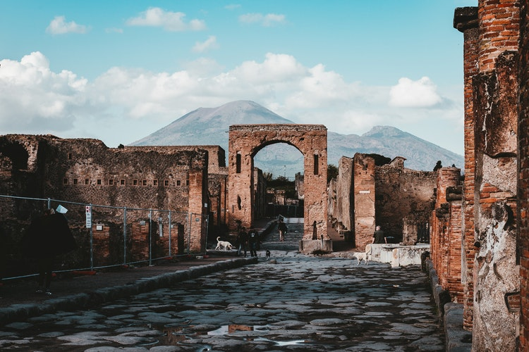 best places to visit in Italy - Pompeii