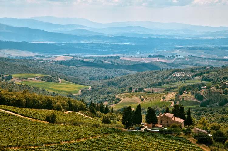 best places to visit in Italy - Tuscany