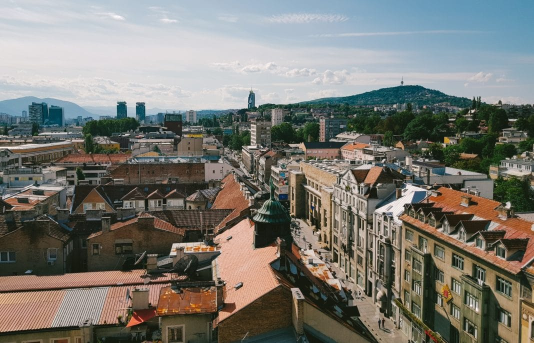 cheapest places to travel in Europe - Sarajevo, Bosnia and Herzegovina