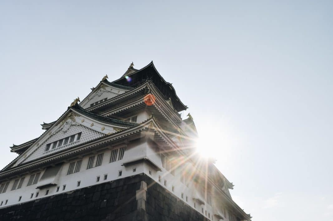 best places to visit in Japan - Osaka Castle