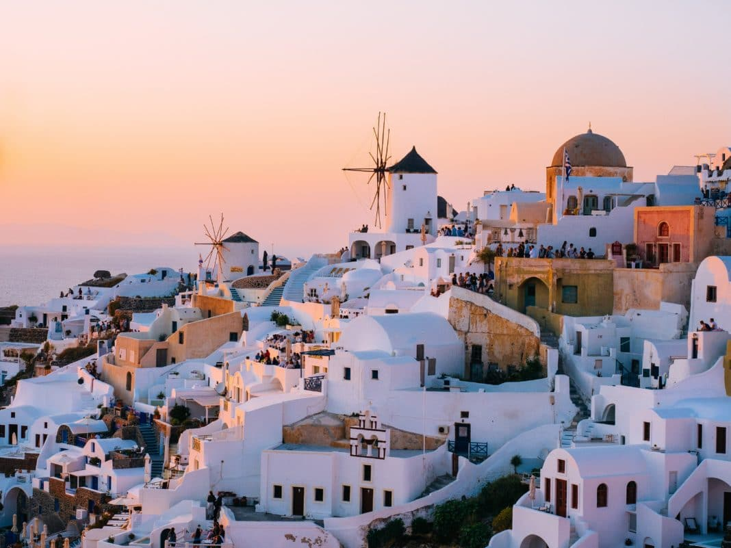 cheapest places to travel in Europe - Santorini, Greece