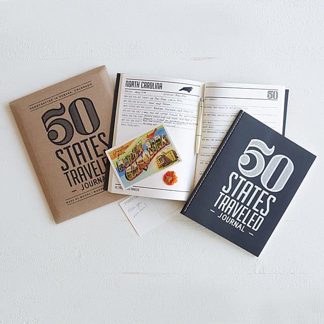 best travel books - States Traveled Journal