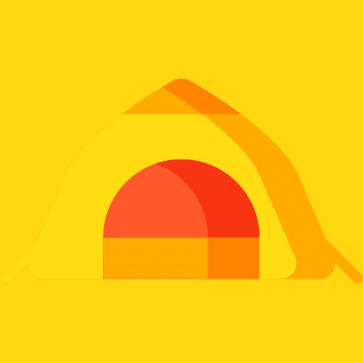 tent architecture icon
