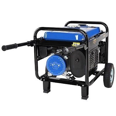 Portable Generator with Wheels