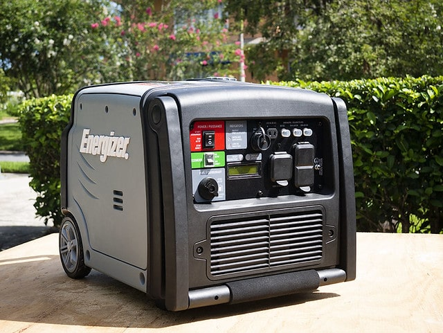 Portable Generator Low-Oil Shutoff
