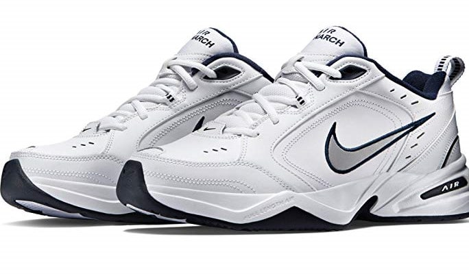 two pair of nike shoes
